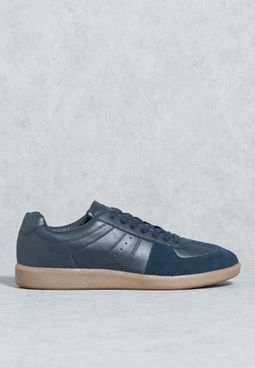 Suede Panels Sneakers