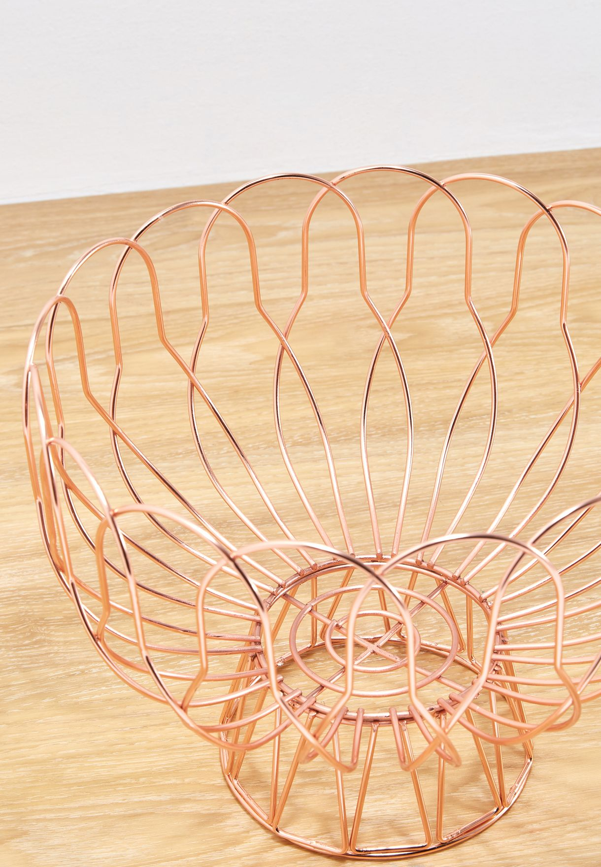 Woven Wire Fruit Bowl