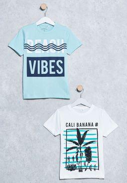 Kids 2 Pack Victorkurt T-Shirts