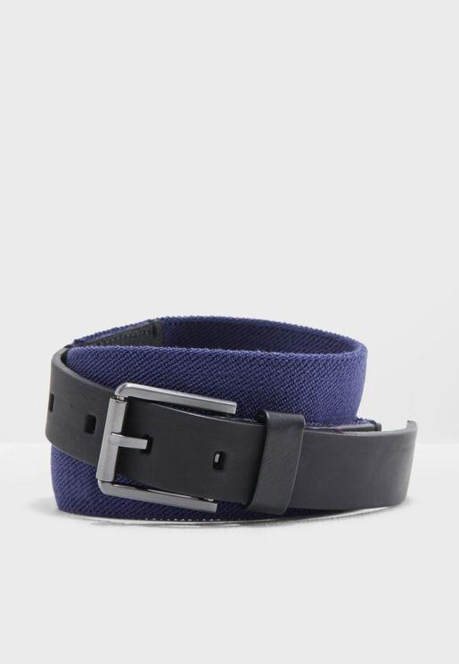 3 Cm Elastic Leather Belt