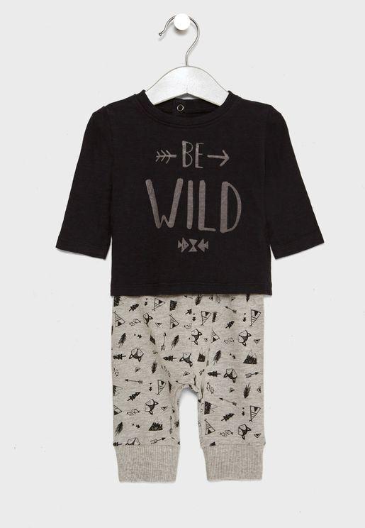 Infant Top + Leggings Set