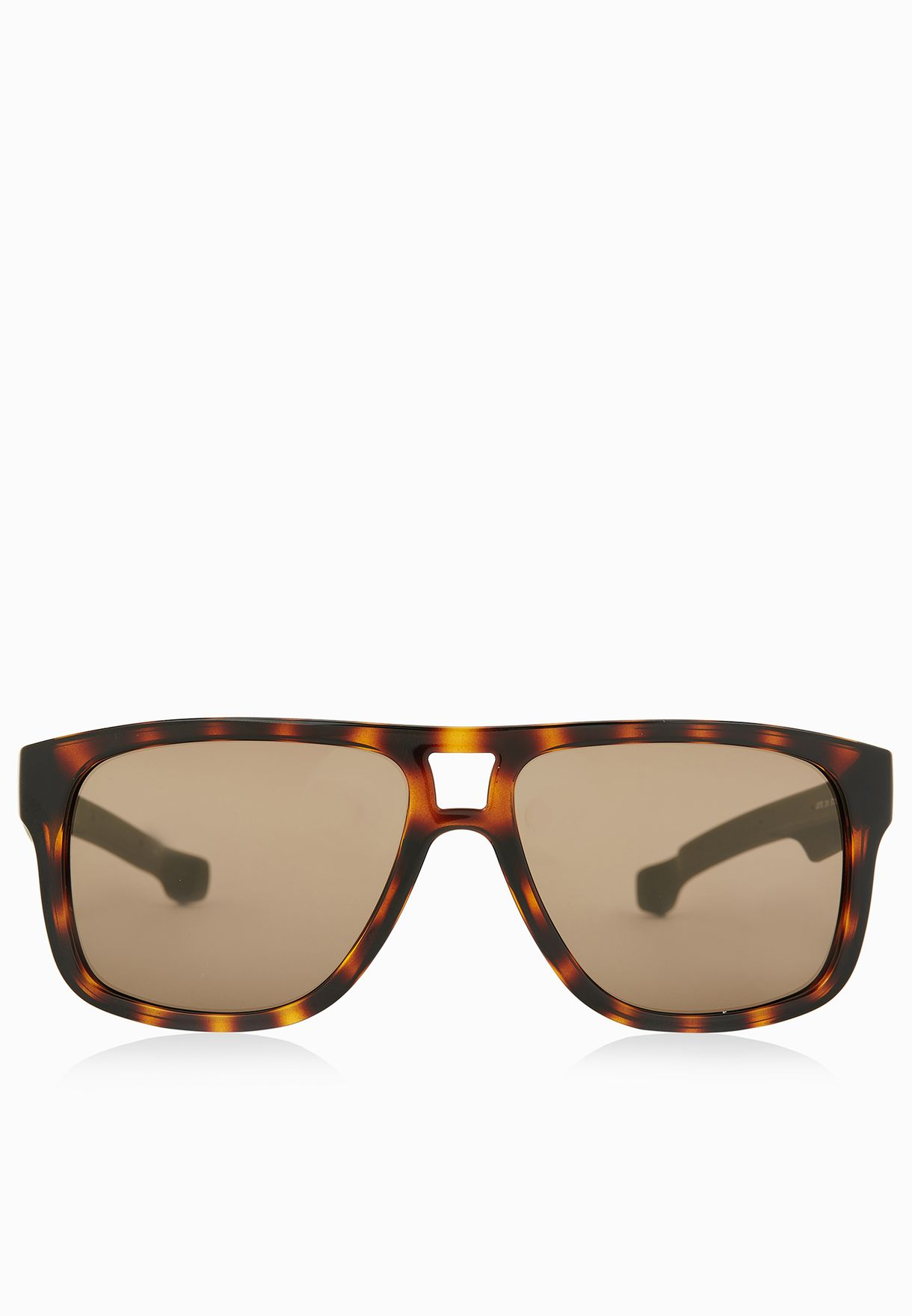 114fa3c57ed Shop Lacoste browns Magnetic Frame Rectangle Sunglasses L817S-214 ...