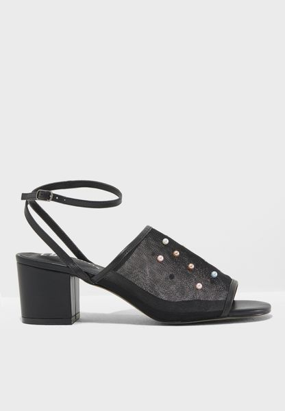 Jenson Block Heel sandal