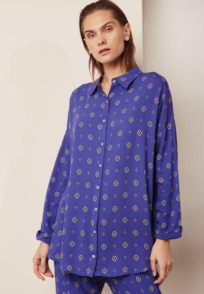 Printed Shirt Top