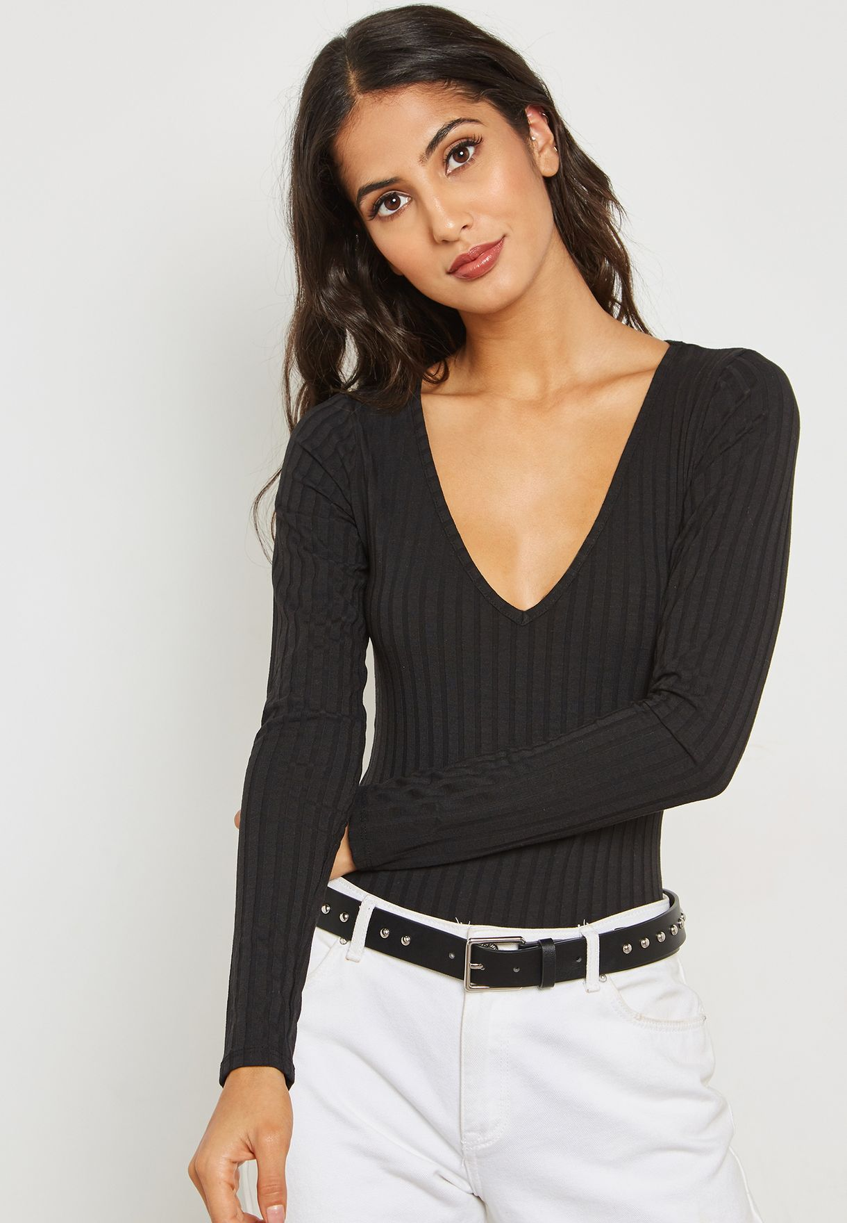 Ribbed Plunge Body