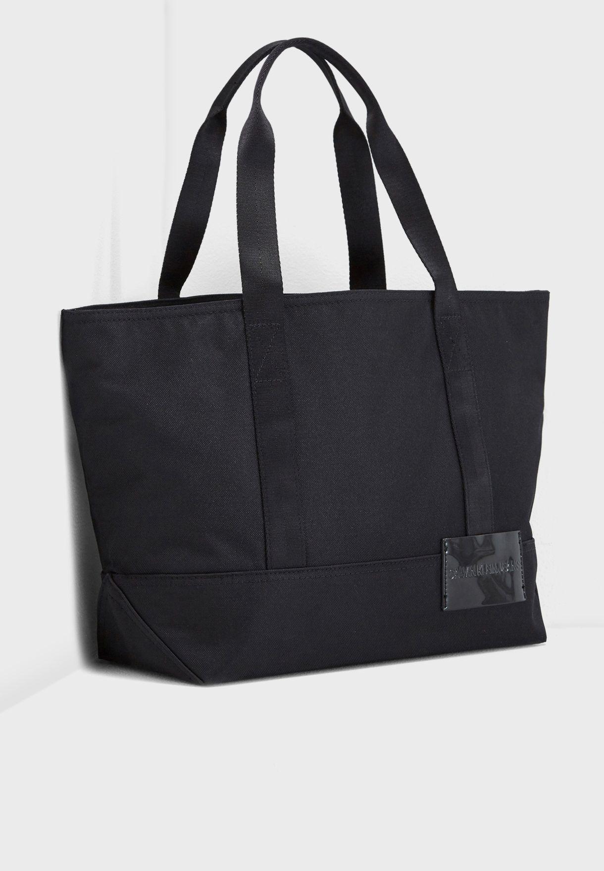 1b7b7a9322b Shop Calvin Klein black Essential Carry All Tote K40K400607 for ...