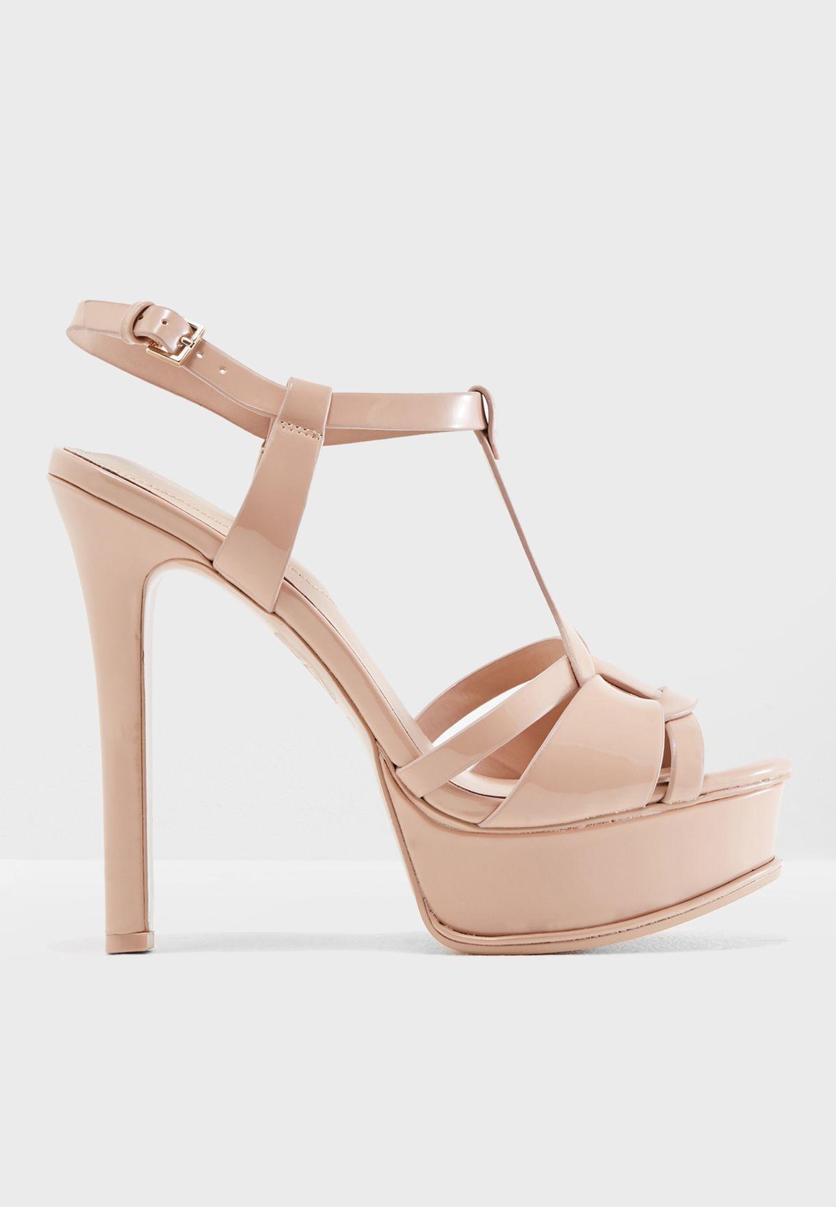 0e427ba5bbb Shop Aldo pink Chelly High Platform Sandal CHELLY34 for Women in UAE ...