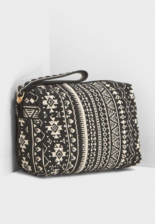 Aztec Make Up Bag