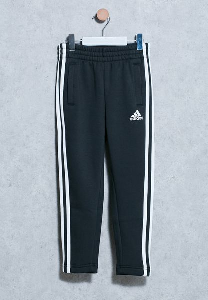 Youth 3 Stripes Logo Sweatpants