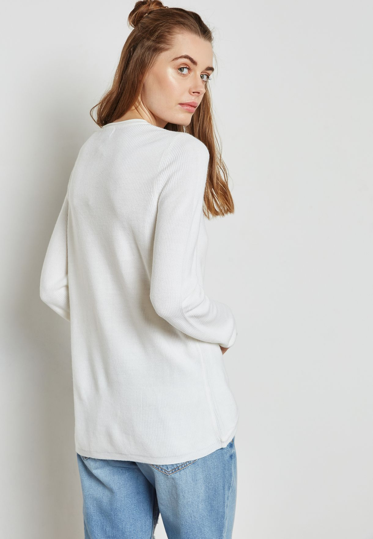 Wrapped Sweater