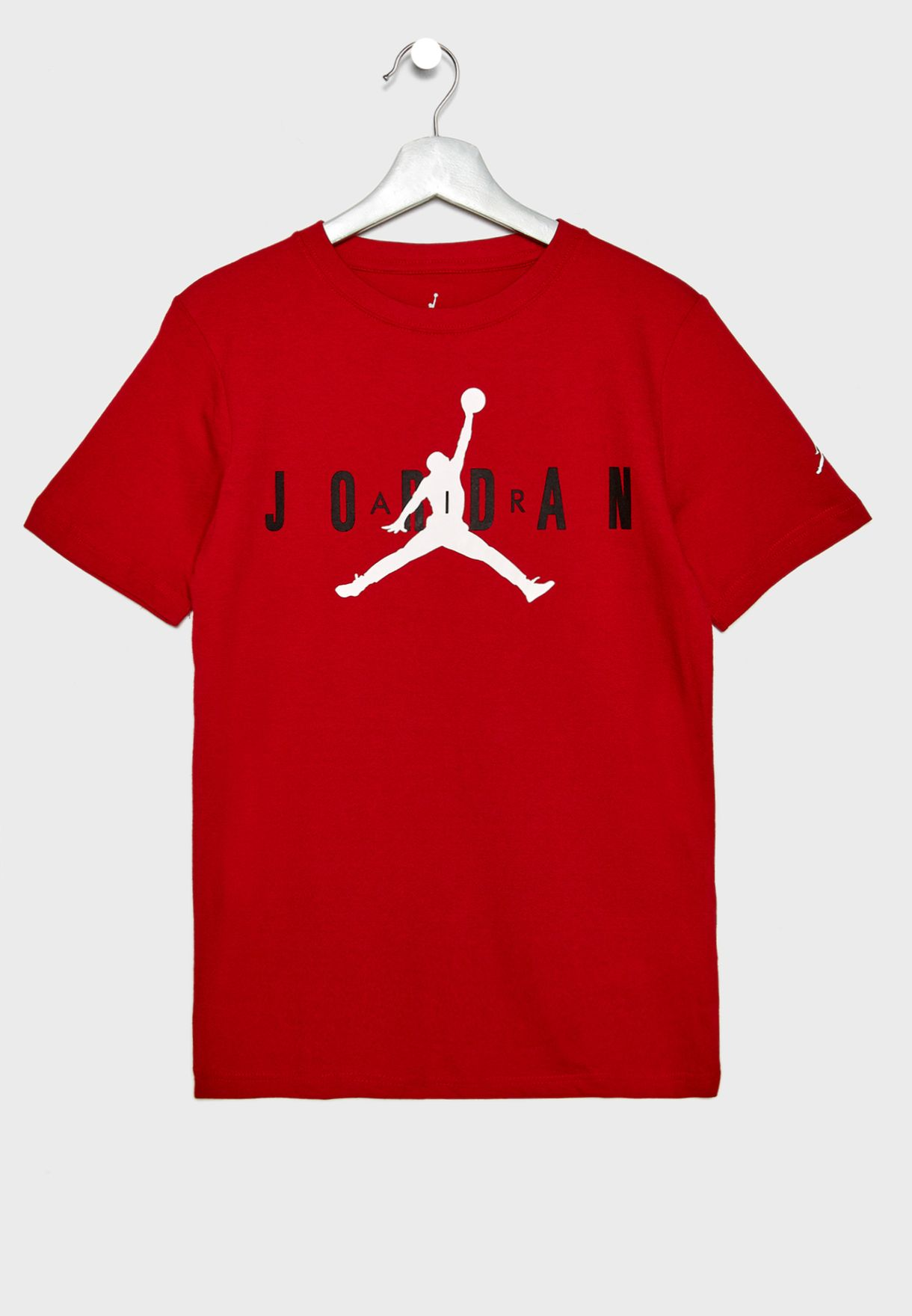 0a1820f3e9c Shop Nike red Youth Jordan T-Shirt 955175-R78 for Kids in UAE ...