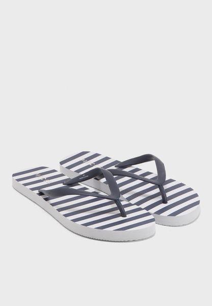 Vera Stripe Flip Flop