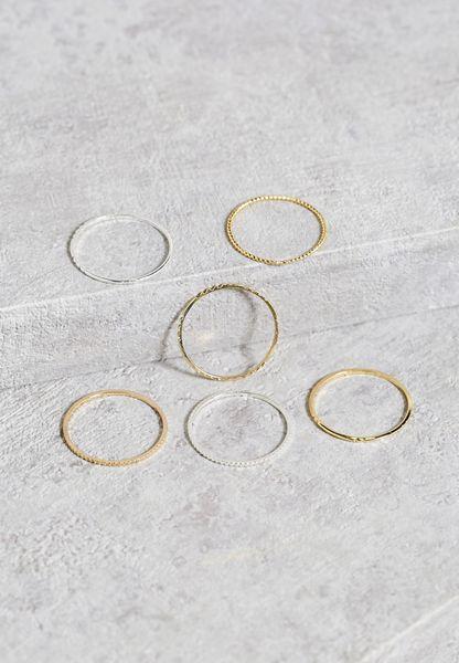 Multipack Stacker Rings