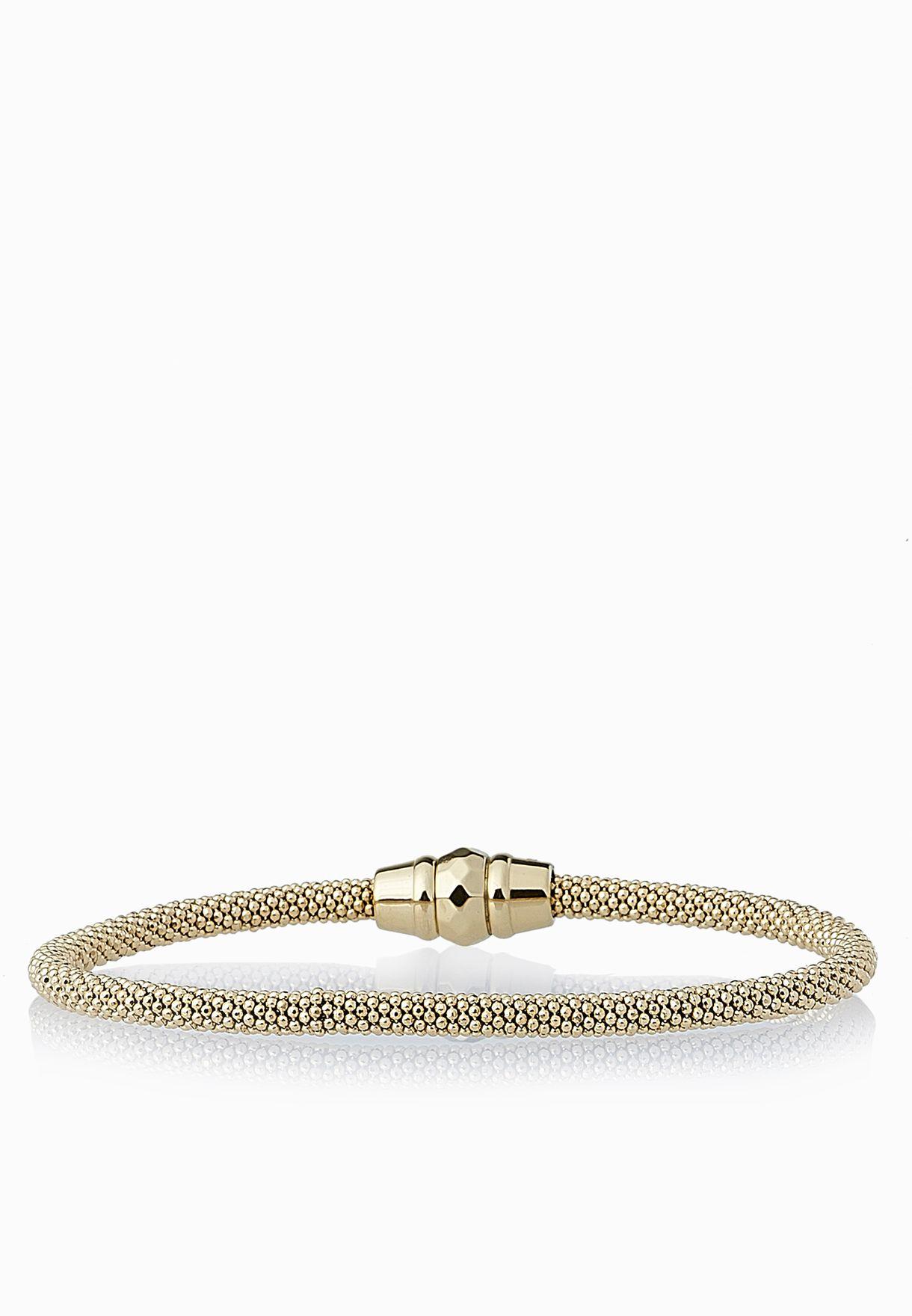 5aca0d4f5 Shop Fossil gold Ball Shot Bracelet JA6295710 for Women in Kuwait ...