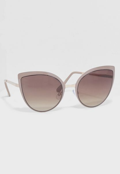Enamel Cat Eye Sunglasses