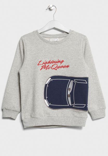 Little Cars Sweatshirt