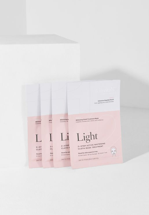 Light 2 Step Face Mask Pack