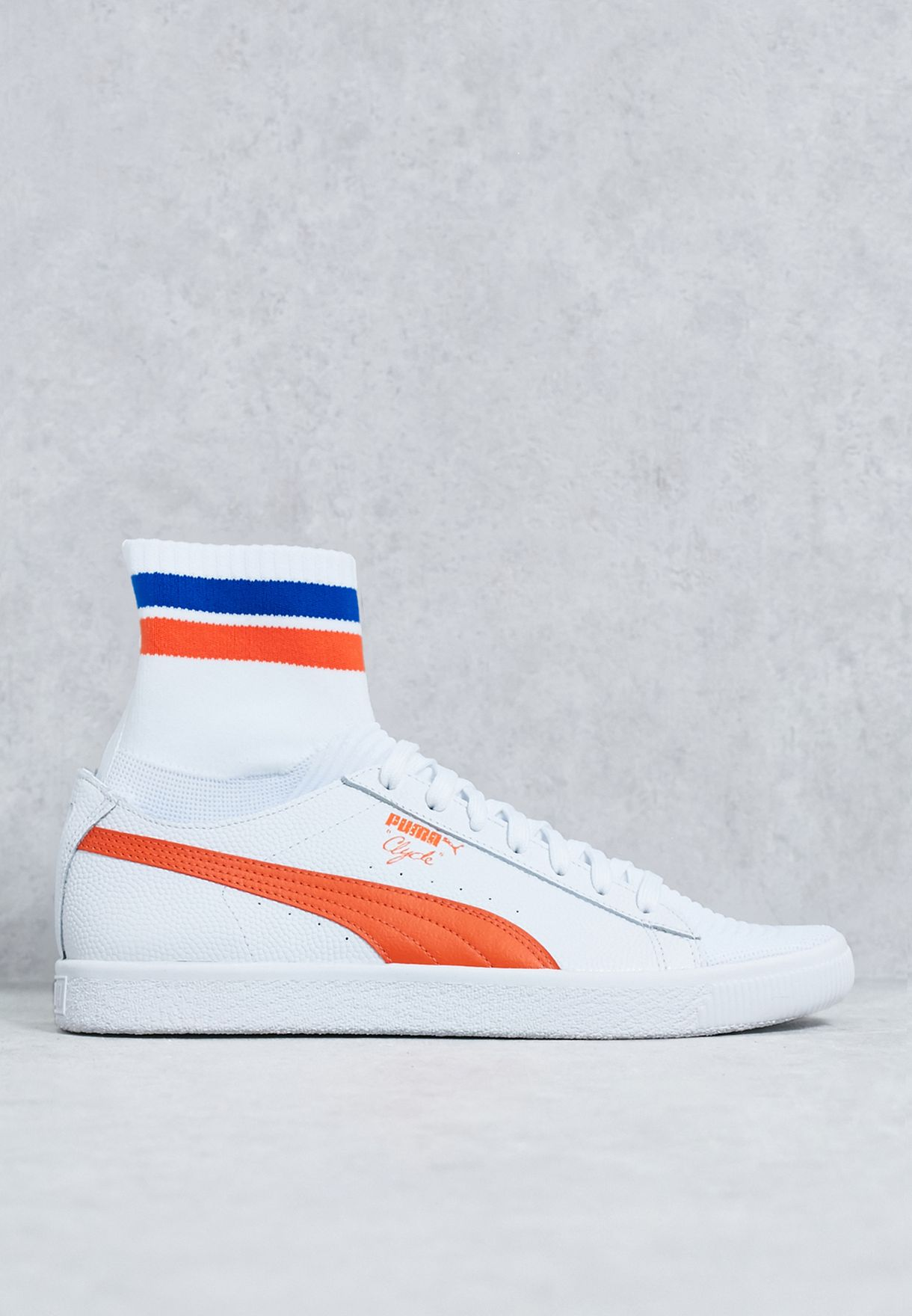 Shop PUMA white Clyde Sock NYC 364948 04 for Men in Kuwait - PU020SH69YAS 03ca22ade