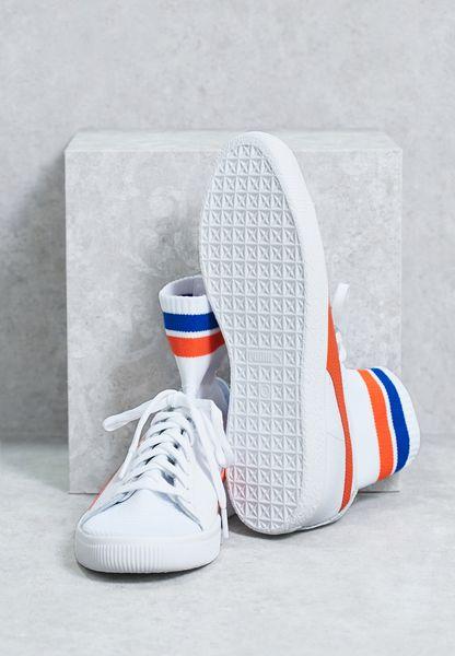 high-quality Shop Puma white Clyde Sock NYC 364948 04 for Men in UAE ... 5eb2a8bdd