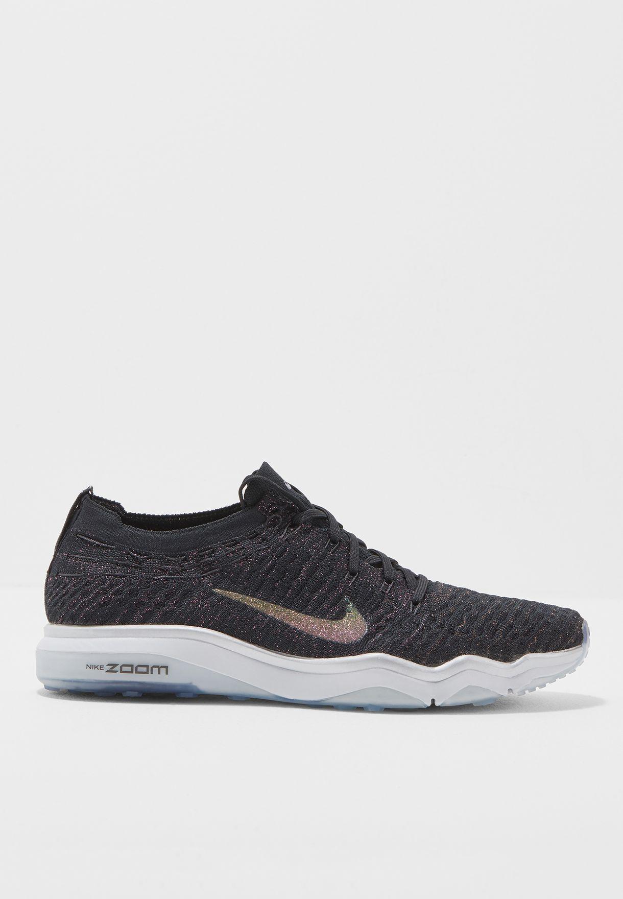 4e2b4c8dec19 Shop Nike black Air Zoom Fearless FK Metallic 922883-001 for Women ...
