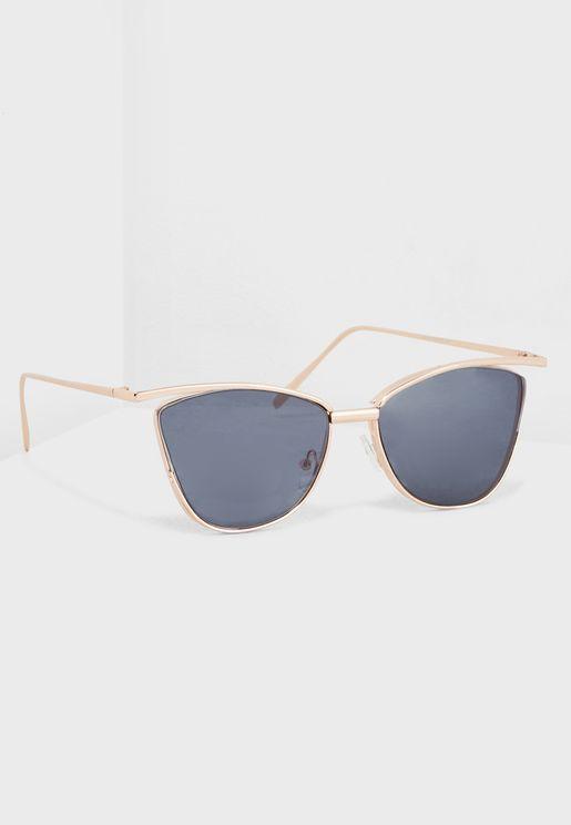 Thin Cat Eye Sunglasses