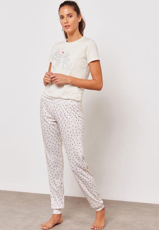 Bride To Be Pyjama Set