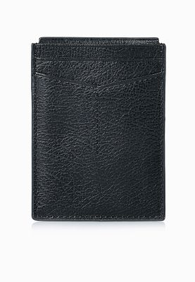 Fossil Omega Magnectic Leather Card Holder