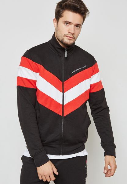 Hater Striped Track Top