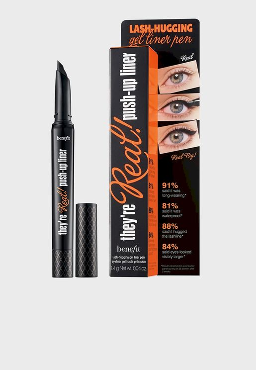 They'Re Real! Push-Up Liner