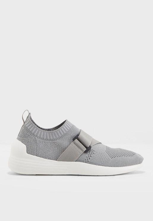 Aima Buckle Knit Sneaker