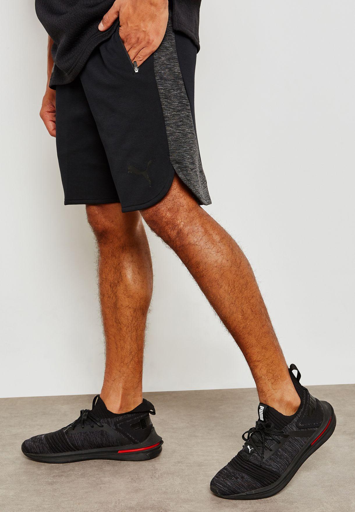 788c981ded Shop PUMA black Evostripe Shorts 85172301 for Men in Saudi ...