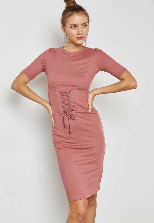 فستان  بنمط كورسيه