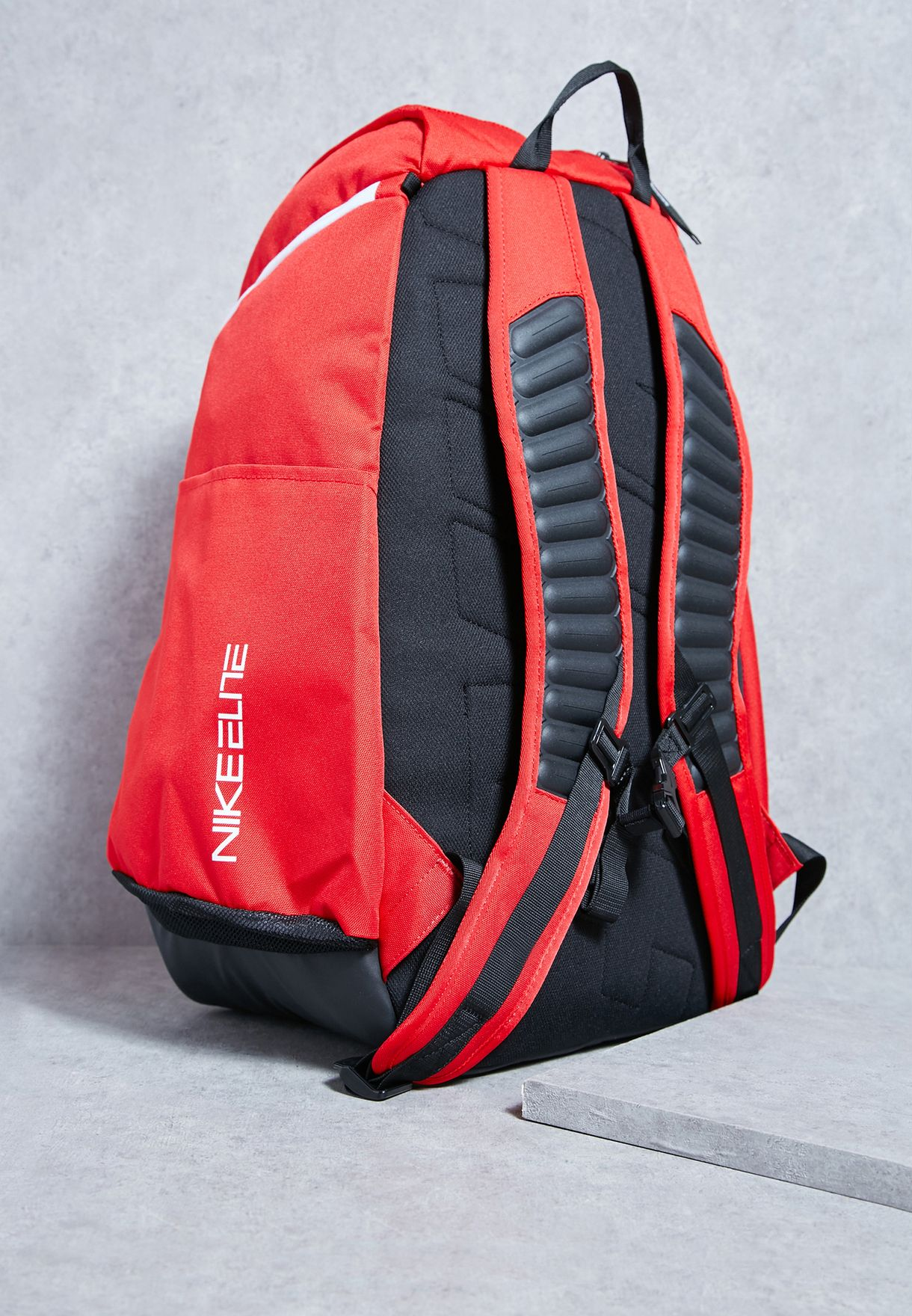 e3229aa2f781 Shop Nike red Elite Max Air Team Backpack BA5259-657 for Men in ...