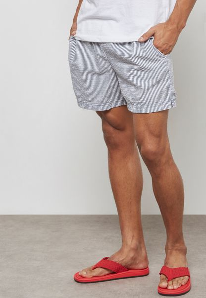 Classic Striped  Swimshorts