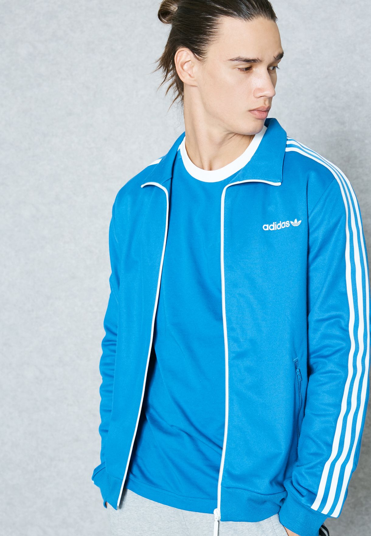 638f8eba995e62 Shop adidas Originals blue BB Track Jacket CE1998 for Men in UAE ...