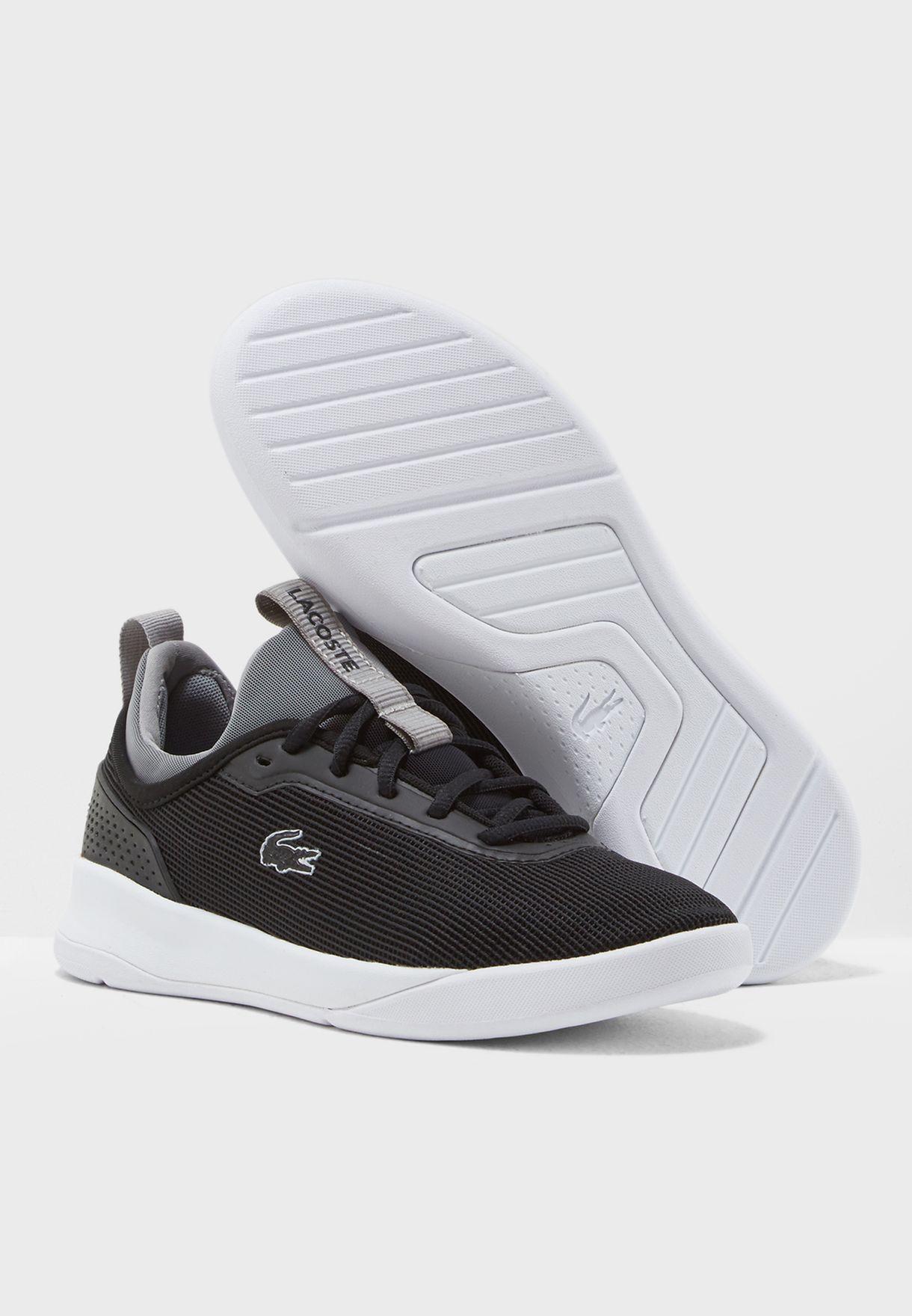 b7658f21a10b Shop Lacoste black Lt Spirit 2 318 2 Spw Sneaker 736SPW0038 for ...
