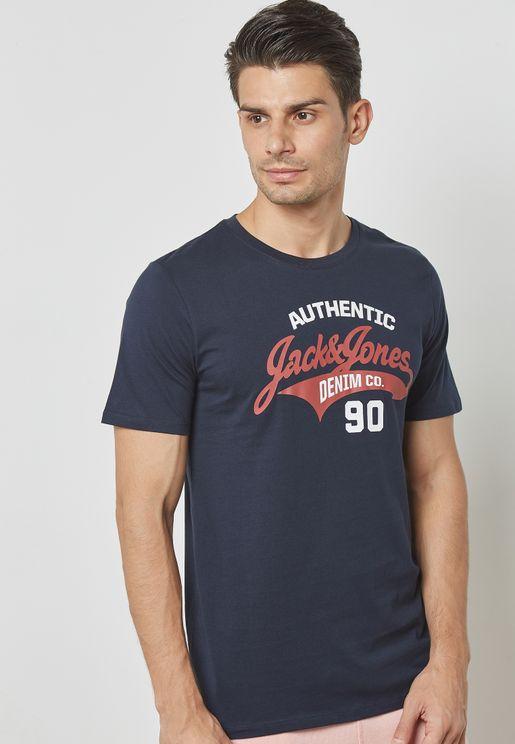 Logo Slim Fit Fit T-Shirt