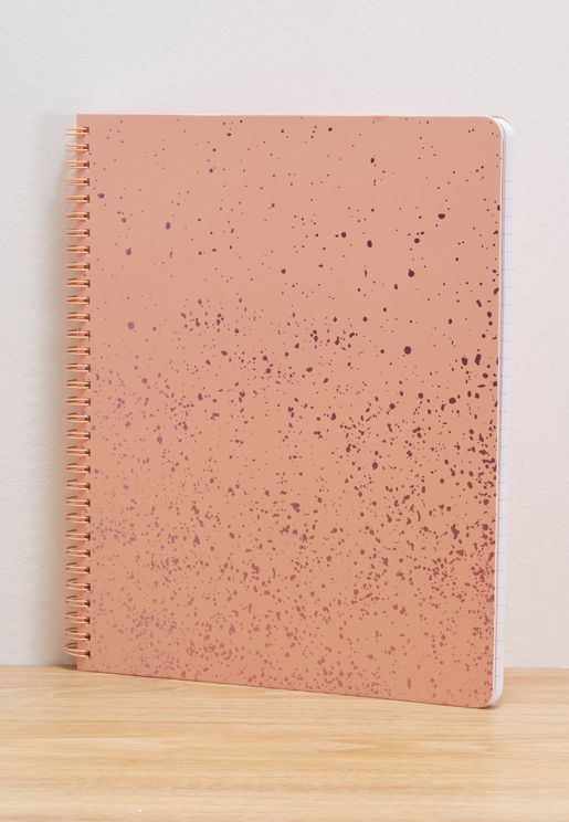 Speckle Rough Draft Large Notebook