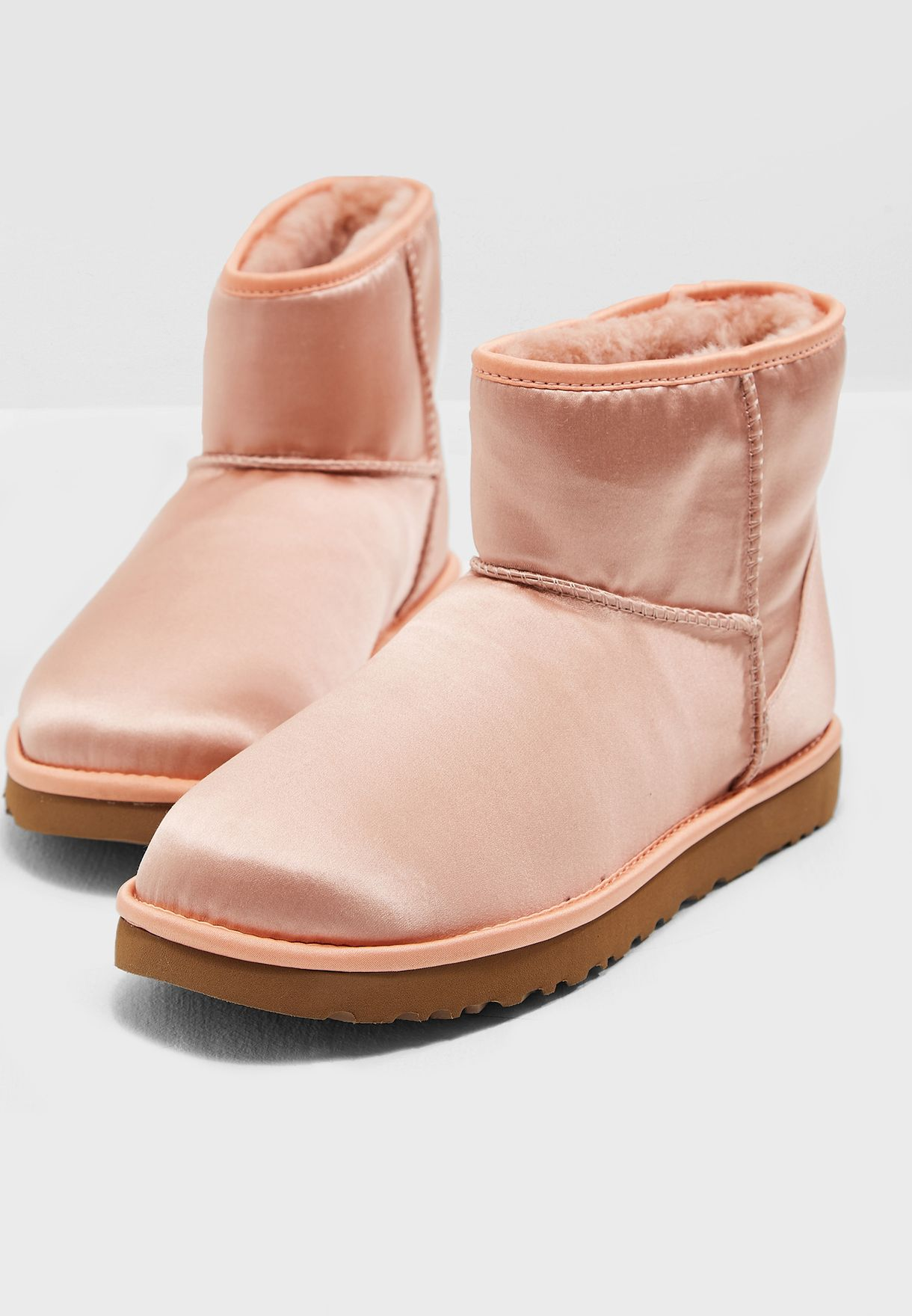 Buy pink Classic Mini Satin Boot for