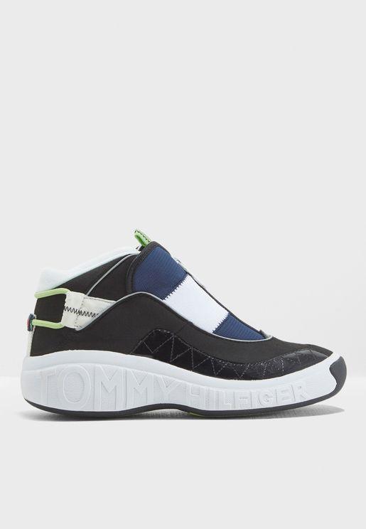 Zip Up Sneaker