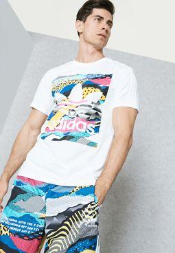 LA Box Graphic T-Shirt