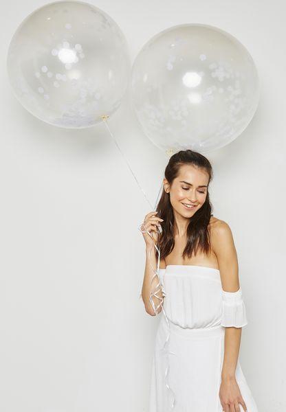 Huge Confetti Balloons