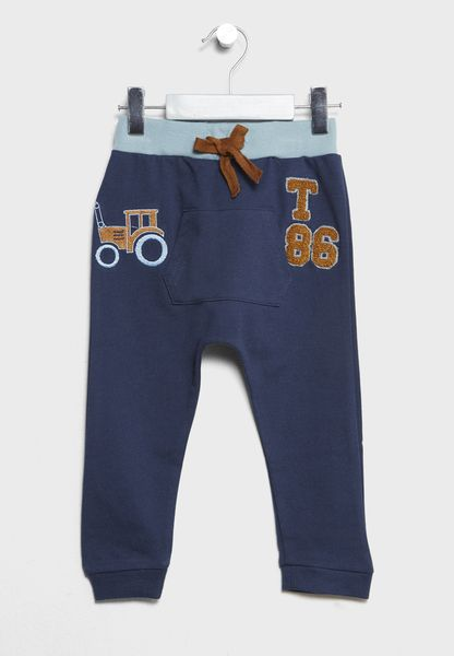 Little Tie Waist Sweatpants