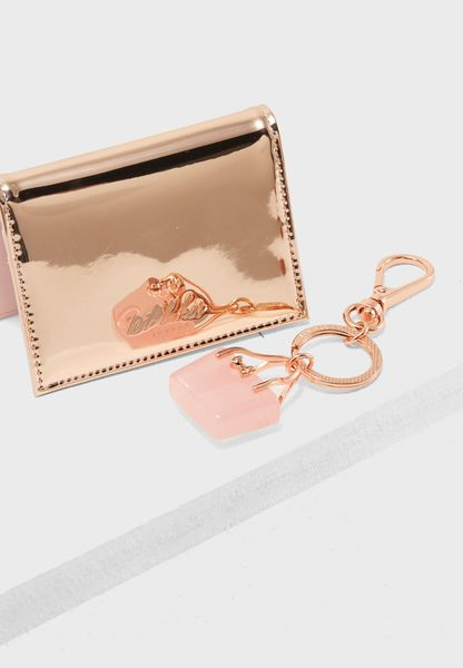 Card Holder + Key Ring Gift Set