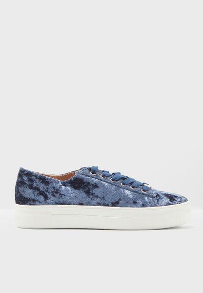 Caramel Velvet Sneaker