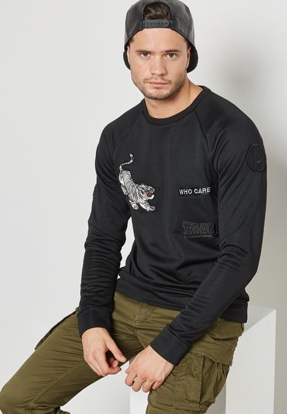 Silas Printed Sweatshirt