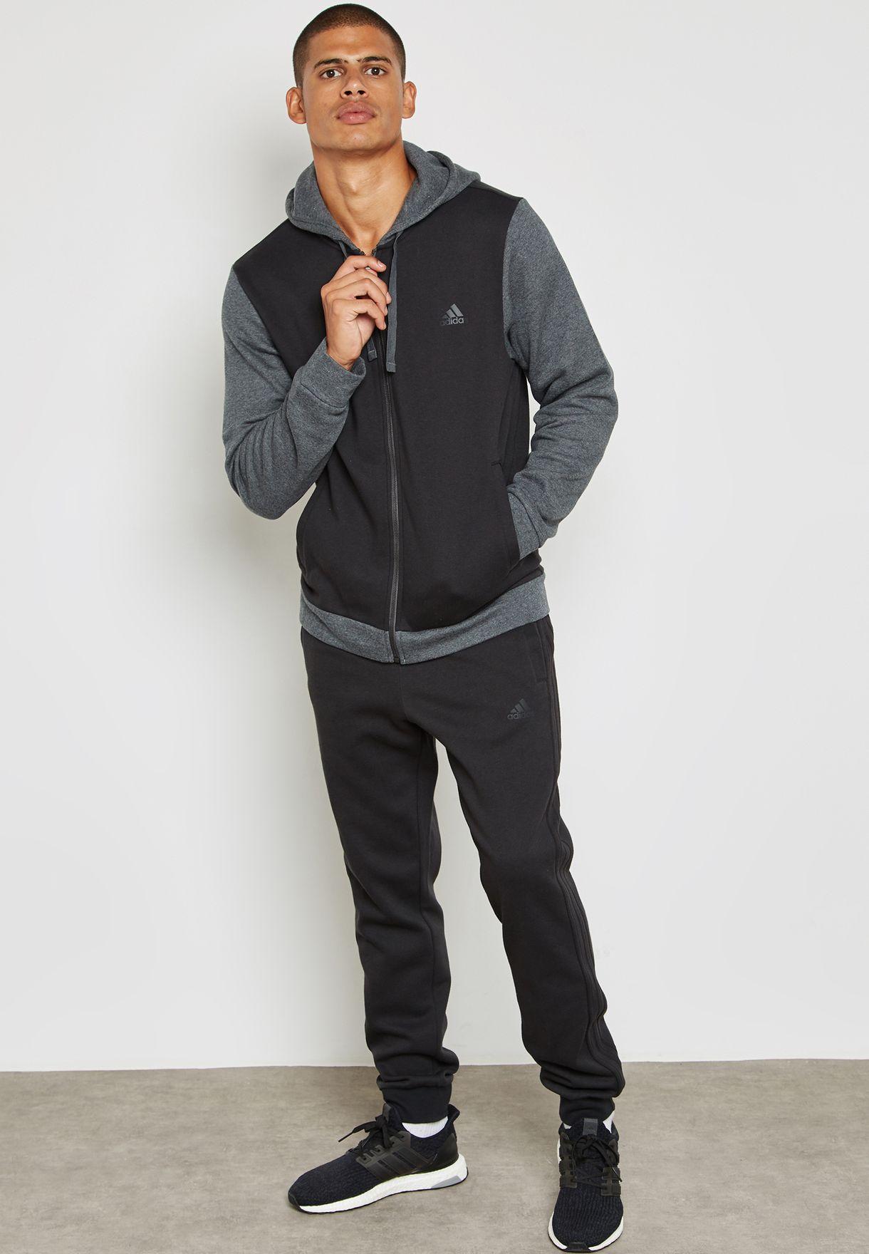 ea45b0524c2 Shop adidas grey Core Energize Tracksuit BQ6974 for Men in UAE ...
