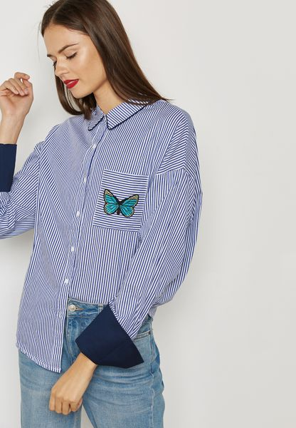 Butterfly Detail Shirt