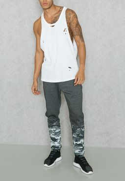 Faded Camo Sweatpants