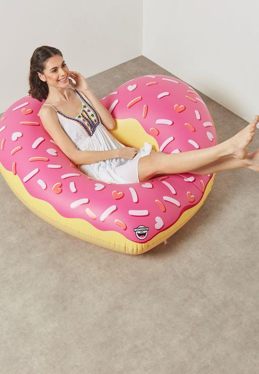 Heart Donut Pool Float